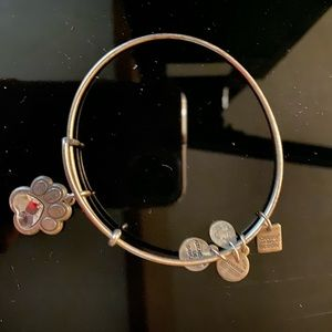 Alex and Ani dog paw bracelet